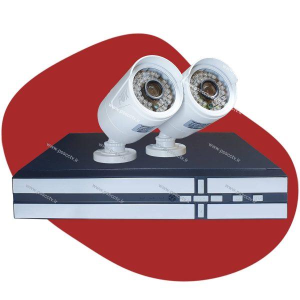 پک دوربین مدار بسته 2 مگاپیکسل