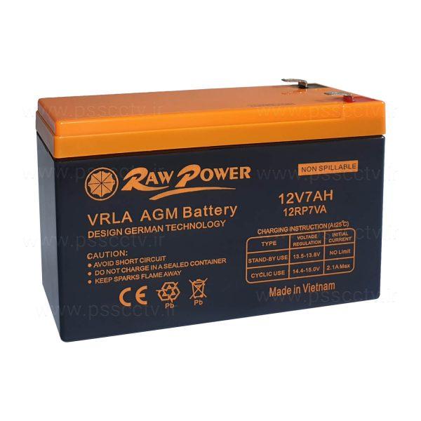 باتری 12 ولت RAW POWER