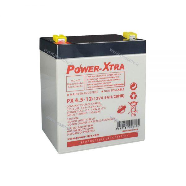 باتری 12 ولت 4.5آمپر power extra